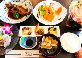 地魚ランチ 2,750円(一例)